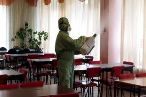 ДЕЗИНФЕКЦИЯ ТОЧЕК ОБЩЕПИТА В Грозном